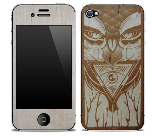 KARVT iPhone 4 Wooden Skins