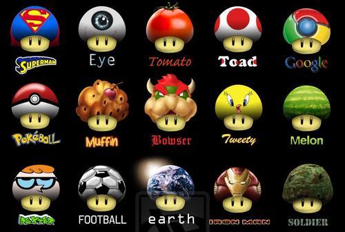 Universal Super Mario's Mushroom