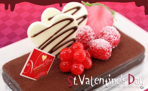 Valentine Chocolate Cake iPhone 4 Case