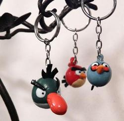 Angry Birds Keychain Collection