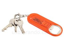 USB Flash Drive Bottle Opener Keychain