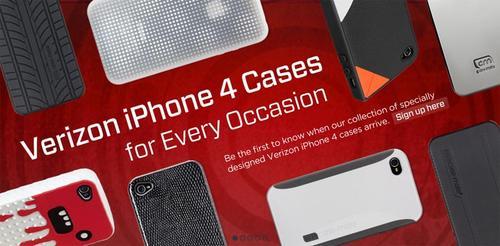 Case-Mate Unveiled Verizon iPhone 4 Cases