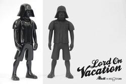 Darth Vader on Vacation Custom Figure