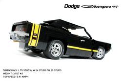 Remote Control LEGO 1969 Dodge Charger R/T