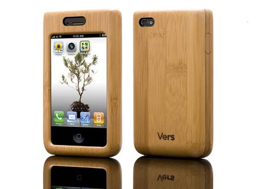Vers Wooden iPhone 4 Case