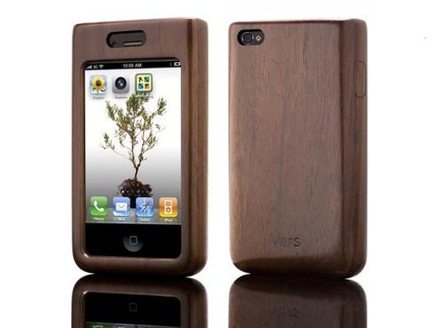 Vers iPhone 4 Wooden Case