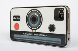 Polaroid Land Camera iPhone 4 Skin