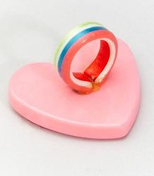Edible Candy Heart Ring for Your Lovely Trick on Valentine's Day