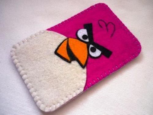 Angry Birds Felt Gadget Case for iPhone and iPod Touch