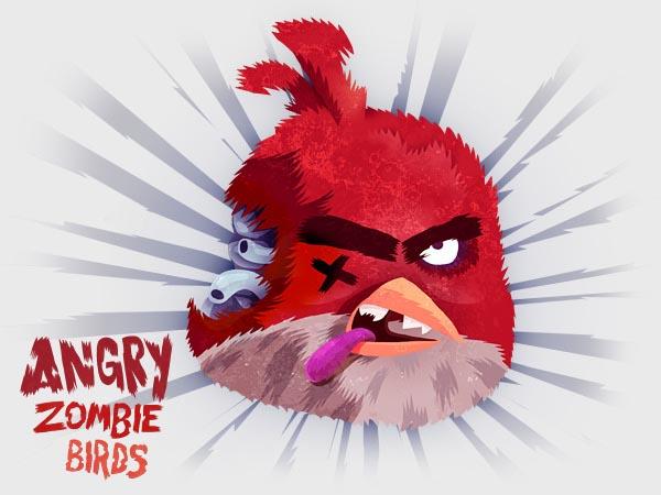 Angry Birds Zombie Version   Gadgetsin