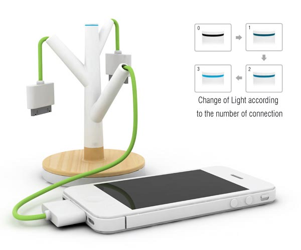 Giving Tree Charging Station Design Concept