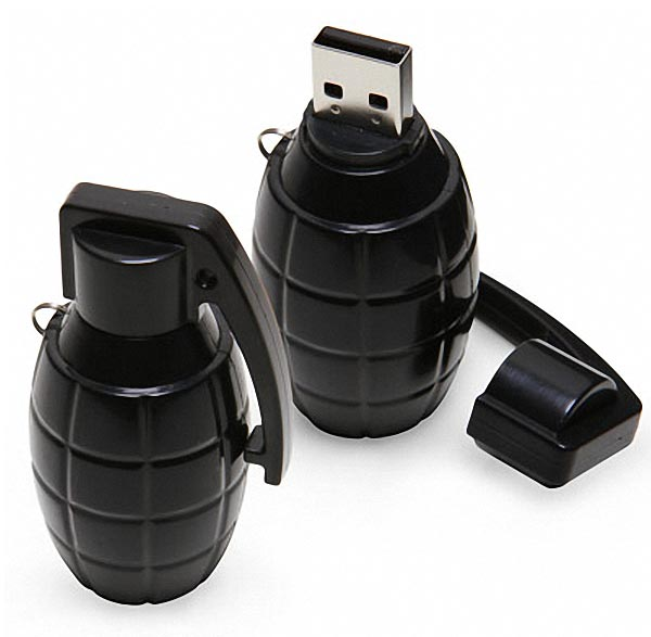 grenade_usb_flash_drive_1 - Unique Memory Stick - Technology