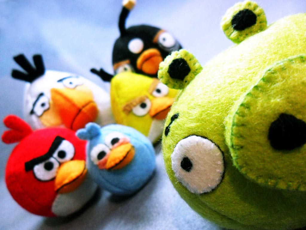 Angry Birds Stuffed Toys : Possible rovio mobile strategic investment might make it