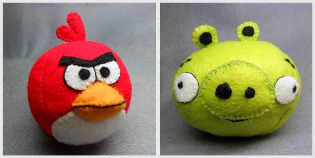 handmade angry birds plush toy gadgetsin