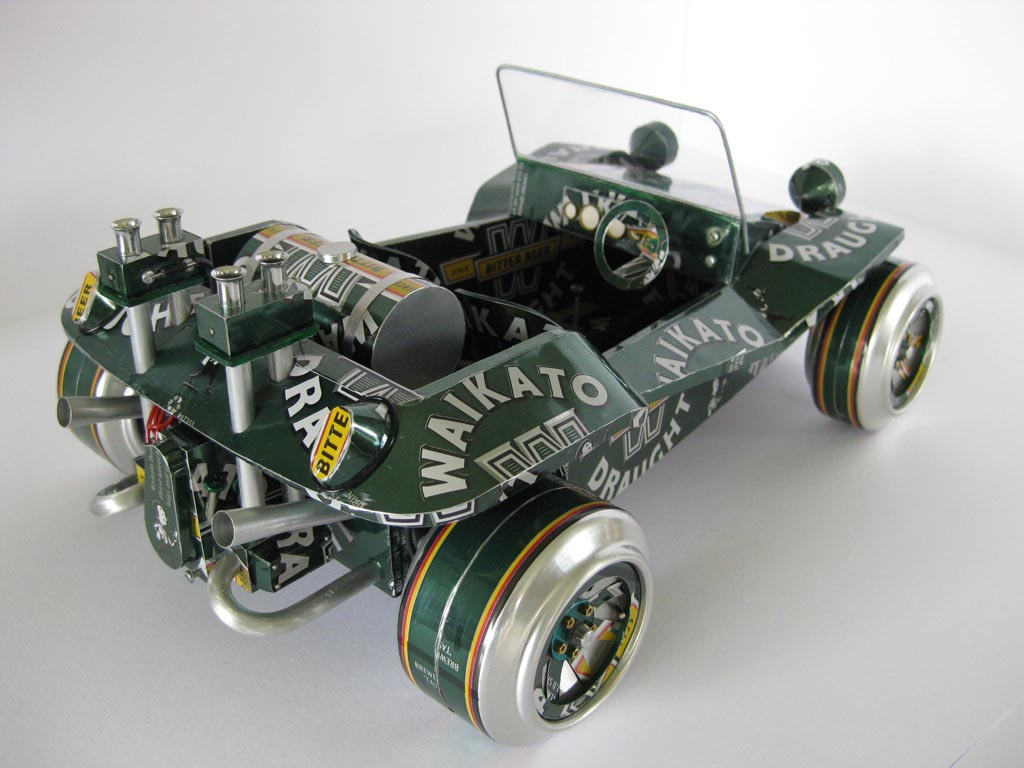 Handmade Model Cars Built with Recycled Cans | Gadgetsin - photo#33