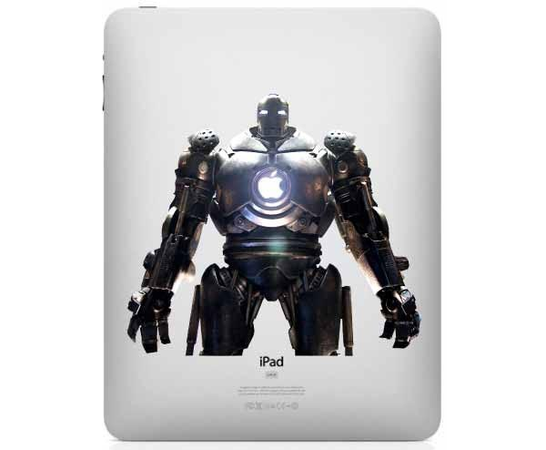 Iron Man 2 Vanko Drone iPad Decal