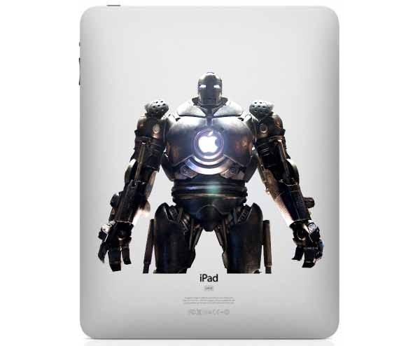 Iron Man 2 Vanko Drone iPad Decal