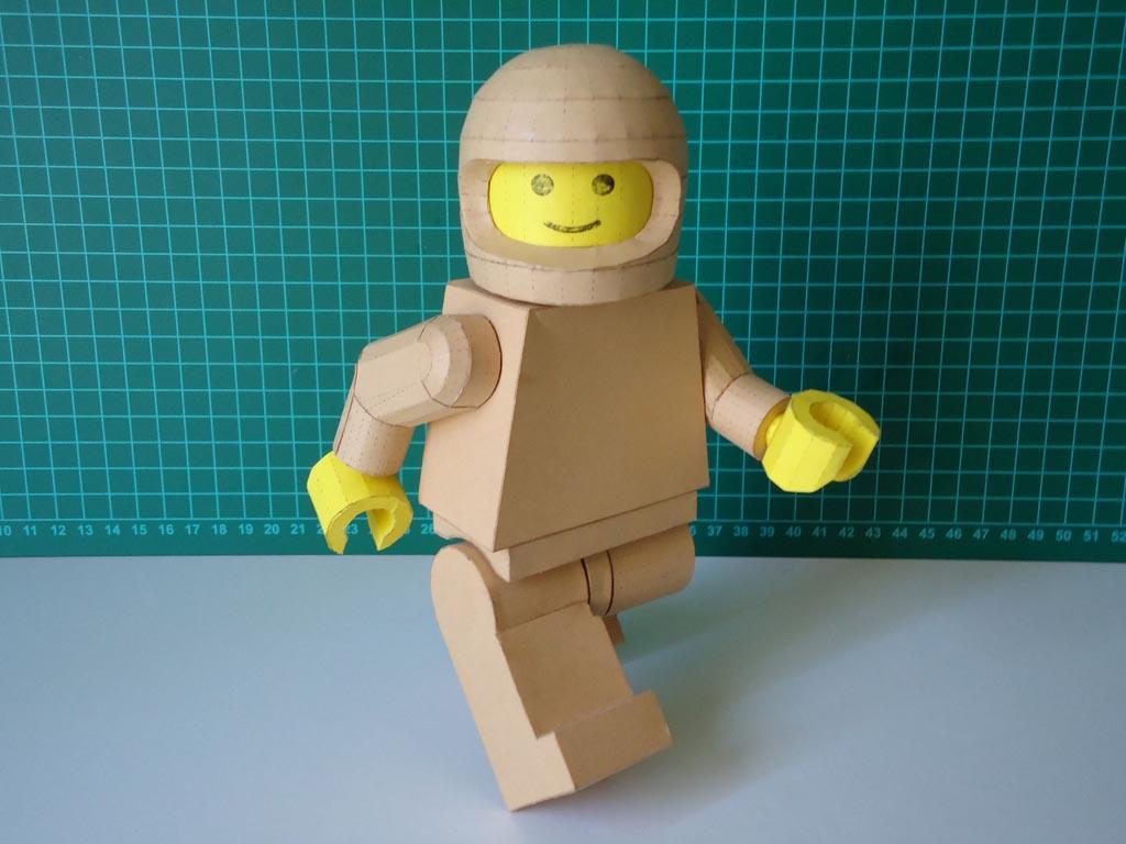 lego minifigure paper craft gadgetsin
