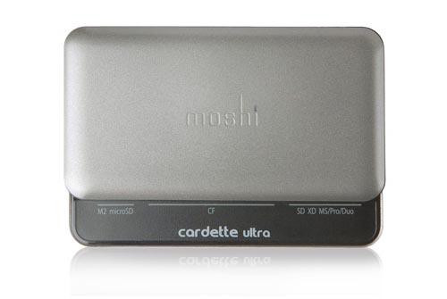 Moshi Cardette Ultra Card Reader with 2-Port USB Hub ...