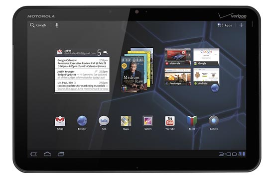 Motorola XOOM Android Tablet Available for Preorder
