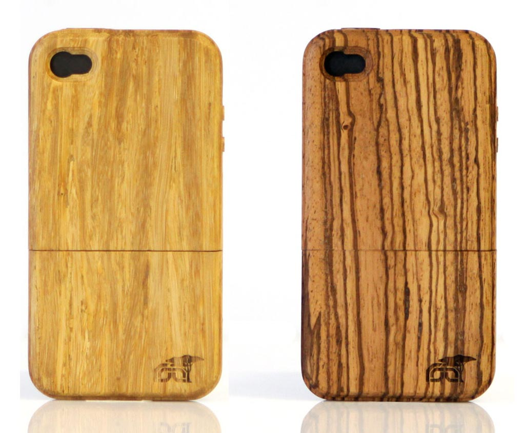 Black Wood Iphone  Case