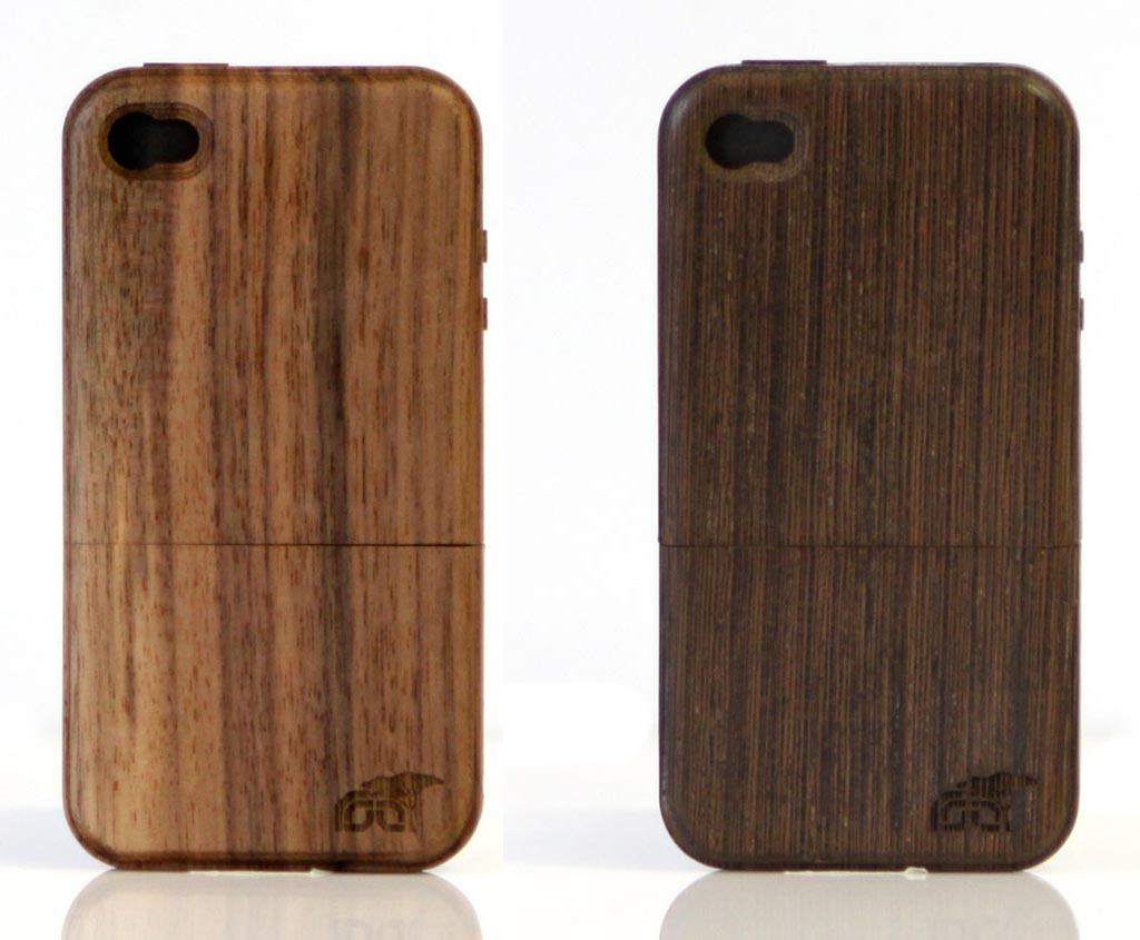 root cases wooden iphone 4 case gadgetsin. Black Bedroom Furniture Sets. Home Design Ideas