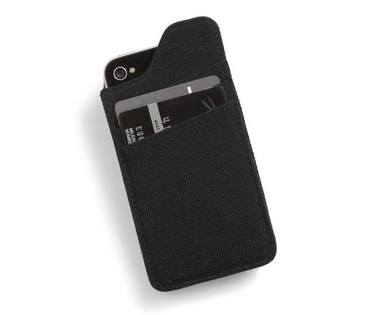 Single Hitter iPhone 4 Case with Card Slots