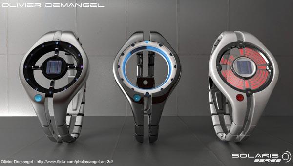 Solaris Solar Watch Design Concept