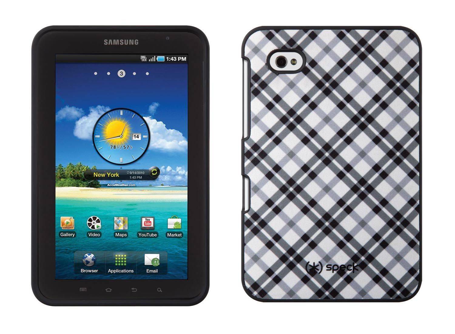 Speck fitted samsung galaxy tab case
