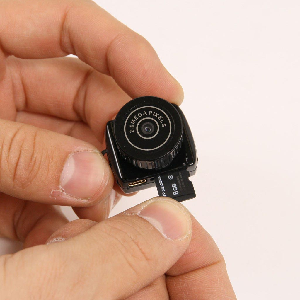 mini camera espion invisible