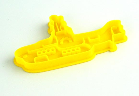 The Beatles Yellow Submarine Cookie Cutter