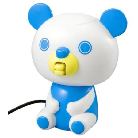 WiZ Charatter Toy Bear Reading Your Tweets
