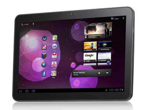 Samsung Galaxy Tab 10.1 with Android 3.0 Honeycomb