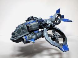 StarCraft 2 Banshee Paper Craft