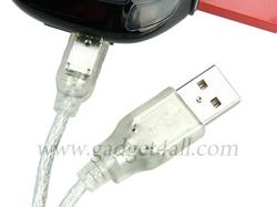 Racing Car USB Hub with Card Reader
