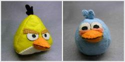 Handmade Angry Birds Plush Toy