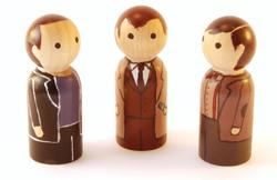 Doctor Who Peg Dolls Collection