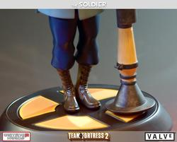 Team Fortress 2 The Soldier Collectible Statue