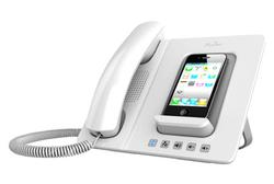 iFusion iPhone Docking Station with Bluetooth Handset