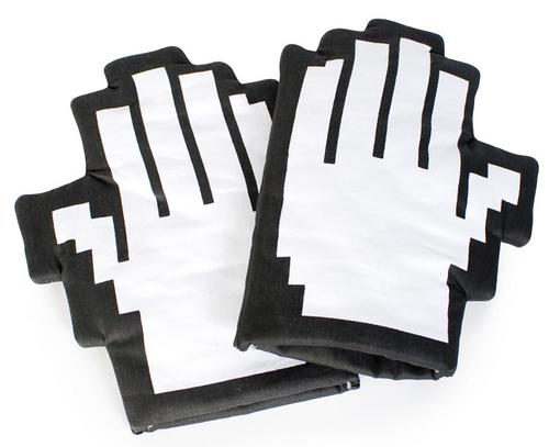 8-Bit Styled Oven Mitts