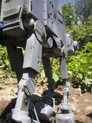 Handmade Star Wars AT-AT Model