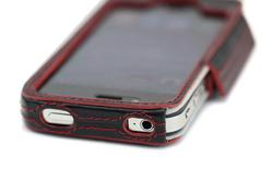 Tunewear Prie Ambassador iPhone 4 Leather Case with Metal Hook
