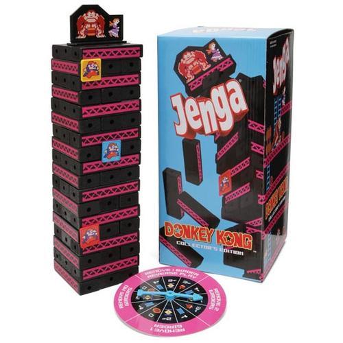 Donkey Kong Themed Jenga