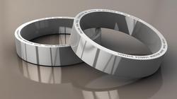 Twitter Themed Tweet Silver Ring
