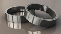 Twitter Themed Tweet Silver Ring - Titanium