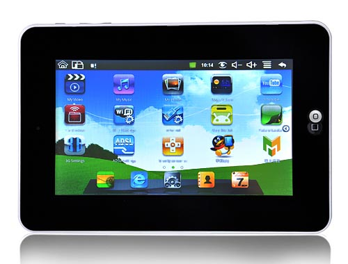 Android Tablet: Google Android Tablet