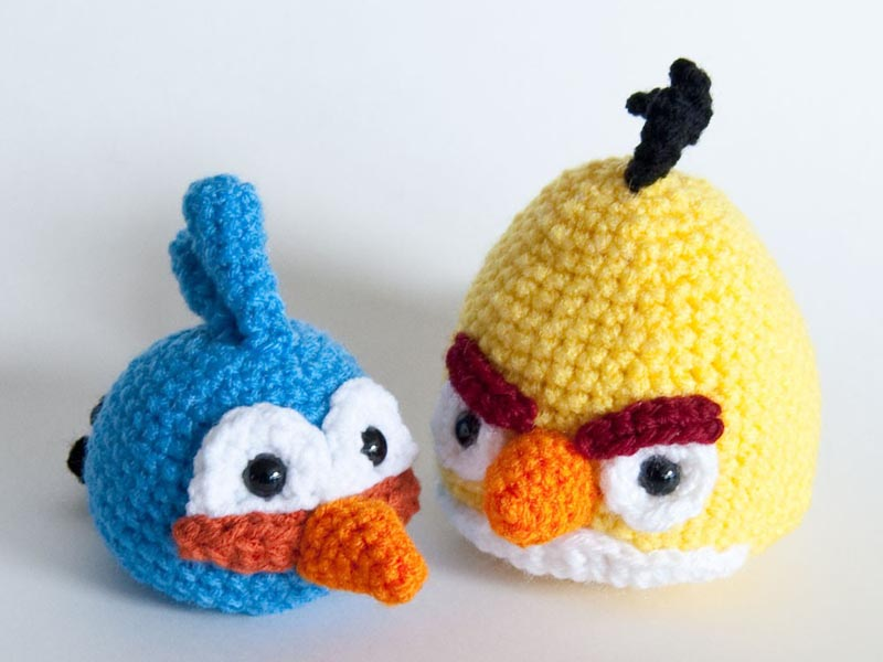 Tags Amigurumi Angry Birds Crochet Patterns Plush Toy