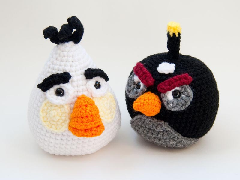 Crochet Hat Pattern Angry Bird : Pics Photos - The Angry Birds Crochet Hat Patterns May Be ...