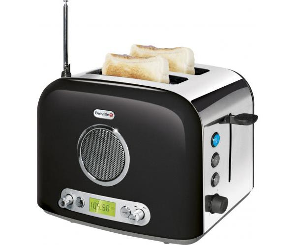 Breville 2-Slice Toaster with FM/AM Radio