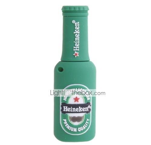 Classical Heineken Beer Bottle USB Flash Drive